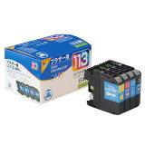 リサイクルインクカートリッジ ブラザー LC113-4PK互換 4色セット (ブラック?シアン?マゼンタ?イエロー) brother 日本製 【ジット】[JIT-B1134P]
