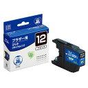 ブラザー LC12BK対応 (ブラック) JITリサイクルインク 日本製 国産 brother 再生インク[JIT-B12B]【ジット】
