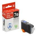 リサイクルインクカートリッジ キャノン BCI-7eBK互換 (ブラック) Canon 日本製 キヤノン 【ジット】