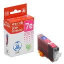 リサイクルインクカートリッジ キャノン BCI-7eM互換 (マゼンタ) Canon 日本製 キヤノン 【ジット】