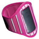 アームバンドケース ピンク iPhone、iPod touchなどに対応 [PDA-MP3C6P] 【サンワサプライ】