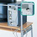 【送料無料】パソコンロック ユニバーサルセキュリティキット ワイヤー 南京錠 鍵 ネジ穴取付タイプ 太さ4.5mm 長さ2.4m セキュリティ パソコン盗難防止 [SL-1]【サンワサプライ】