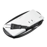 モバイルタップ(AC2個口・USB充電2ポート・薄型・ホワイト)[TAP-MU1W]【ネコポス対応】【楽天BOX受取対象商品】【送料無料】