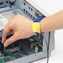 静電気防止リストバンド 静電気からボード・メモリなどを守る 自作用 PCパーツ DOS/Vパーツ