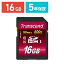 Transcend SDカード 16GB Class10 UHS-I Ultimate 最大90MB/s 永久保証 メモリーカード クラス10 [TS16GSDHC10U1]【ネコポス対応】【楽天BOX受取対象商品】