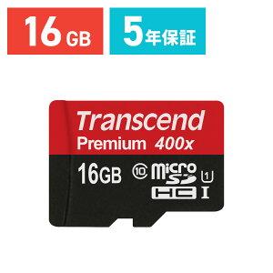 microSDHC������16GBUHS-I��®Class10�ʥ��饹10�˱ʵ��ݾڥޥ�����SD������Transcend�ʺ���ž��®��45MB/s��