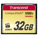 Transcend コンパクトフラッシュ 32GB 1066倍速 5年保証