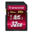 SDHC card 32GB UHS-1 up to 90MB/s Highway Class10 (class 10) eternal guarantee Ultimate SD card Transcend [TS32GSDHC10U1] [トランセンド]
