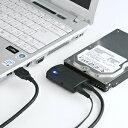【送料無料】SATA-USB3.0変換ケーブル 2.5インチ・3.5インチドライブ両対応 [USB-CVIDE3]【サンワサプライ】