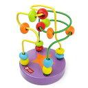 クラシック 知育玩具 指先トレーニング ミニ ビーズコースター mbk-pp約9×12cm