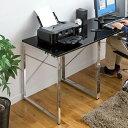 【送料無料】鏡面仕上げ ミニテーブル 幅60cm×奥行60cm 四角形 小さい サイドテーブル ブラック・ホワイト 小型テーブル [100-DESK093]