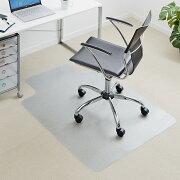 チェアマット 半透明 PVC製 フローリング 畳 キズ防止 オフィスチェア 椅子 フロアシート[100-MAT002]