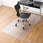 大型 チェアマット 半透明 ポリカーボネート素材 畳 カーペット フローリング キズ防止 床暖房対応 日本製 椅子 フロアシート[100-MAT007]