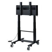 【送料無料】電動昇降 液晶テレビスタンド 60〜84型対応 高耐荷重 90kg [CR-PL24BK]