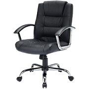レザーチェアー 本革 ロッキング パソコンチェア プレジデントチェア オフィスチェア 椅子 [SNC-L10K]
