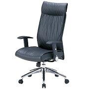 本革レザーチェア ハイバック ロッキング スイングアーム パソコンチェア オフィスチェア 椅子 [SNC-L8]