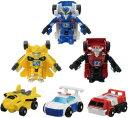 トランスフォーマー チームビークールセット ミニカー ロボット おもちゃ