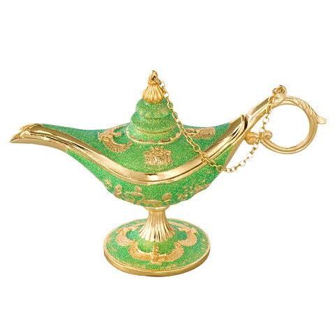 [5000円以上で送料無料] エジプトお土産 | 魔法のランプ ゴールド×グリーン【181321】