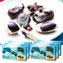 [送料無料] パラオお土産 | パラオ シーシェルチョコレート ドルフィン紙袋付き 6箱セット【174065】