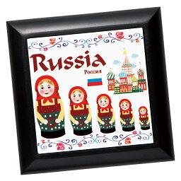 [5000円以上で送料無料] ロシアお土産 | マトリョーシカ 鍋敷き【171267】