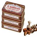 [5000円以上で送料無料]イタリアお土産   バルベロ トリュフチョコレート ミニ缶 3缶