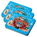 ハワイお土産 | ハワイ缶入り マカデミアナッツ チョコレート 3缶セット