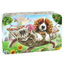 [5000円以上で送料無料] チャーチル Churchill's ガーデンパーティー 犬猫缶 ミニチョコチップクッキー【105894】