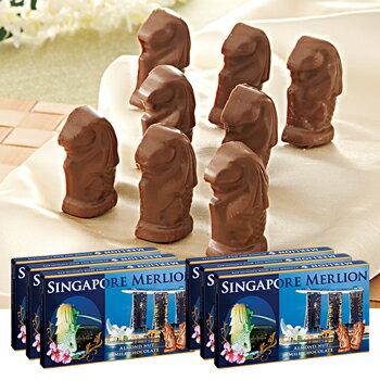 [送料無料] シンガポールお土産 | マーライオン アーモンドチョコレート 6箱セット【176048】