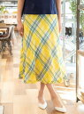 [Rakuten Fashion]【SALE/40%OFF】*STORY掲載*【PreciousCollection】STORYスペシャルスカート AMACA アマカ スカート ロングスカート イエロー ブルー【RBA_E】【送料無料】