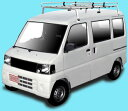 ROCKY(ロッキー)STR-333MHルーフキャリア一般物用(スチール+メッキ)クリッパーバン(U70系)/ミニキャブ(U60系)上記ハイルーフ車