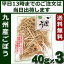 乾燥ごぼう 九州産 3個(40g×3)乾燥野菜 吉良食品