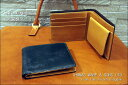 二つ折り財布【送料無料】英国トーマス社製ブライドルレザー×ヌメ革二つ折り財布(ボックス型小銭入れ付) 10P03Sep16