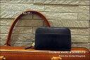 ラウンドファスナー小銭入【送料無料】英国トーマス社製ブライドルレザー×ヌメ革コインケース(ラウンドファスナータイプ) 10P03Dec16