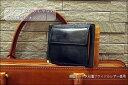 マネークリップ【送料無料】英国トーマス社製ブライドルレザー×ヌメ革マネークリップ付き札ばさみ(小銭入れ付) 10P12Oct15
