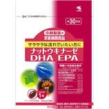 如果你想流NATTOUKINAZE DHA的EPA300mg干粮食× 30 (约30天) [膳食补充剂]小林制药[ナットウキナーゼDHA EPA300mg×30粒(約30日分)【小林製薬の栄養補助食品】]