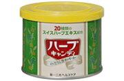 【合算3150円で送料無料】第一三共ヘルスケア ハーブキャンディー 缶160g