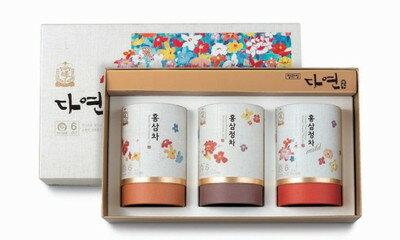 【正官庄】高麗人参 ダヨンセット(紅参茶3種セット)