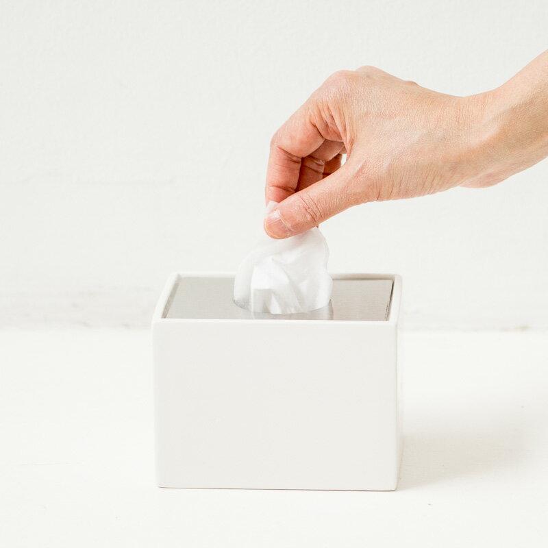 ポケットティッシュケース ティッシュカバー [b2c セラミック ミニティッシュボックス] ポケットティッシュ ボックス