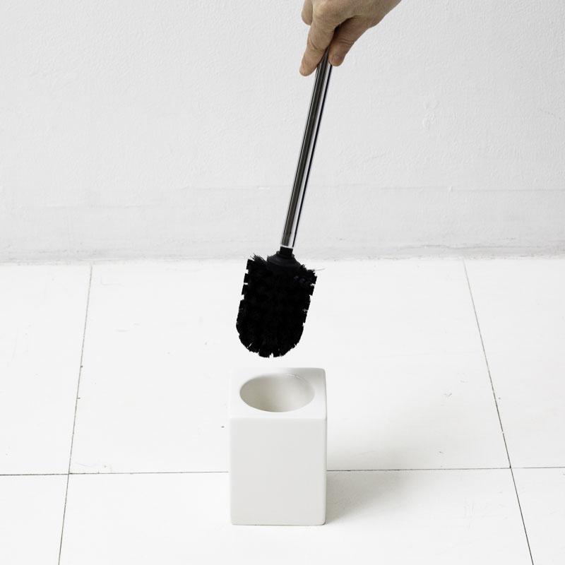 トイレブラシ トイレ ブラシ トイレ用品 [b2c セラミック/トイレブラシ(S)※ケース…...:sarasa-designstore:10000033