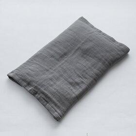 2.5重ガーゼで作った枕サイズを選ばない、安心安全で吸水・速乾性に優れた肌触りの良さが自慢のシンプルな枕カバー
