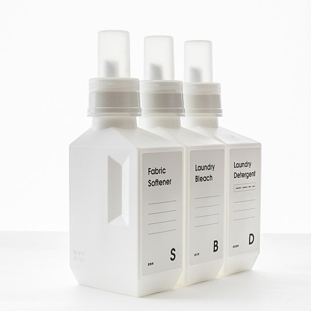 RoomClip商品情報 - 洗濯洗剤 柔軟剤 詰め替えボトル [b2c ランドリーボトル-M 700ml] ラベル・シール別売 サラサデザインストア sarasa design store