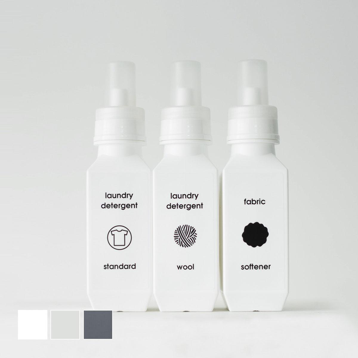 洗濯洗剤 柔軟剤 詰め替えボトル [b2c ランドリーボトル M 700ml] ラベル・シール別売