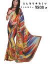 インドサリー/インド民族衣装 やわらかな素材でボディーラインが綺麗に仕上がります!普段遣いからイベント衣装、浴衣替わりにも!こ..