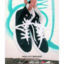 スニーカー ハイカット レディース ハイカットスニーカー 白 フラットシューズ 歩きやすい 靴 カジュアル ママ 通勤 通学中学生 高校生 レースアップ スニーカー 無地 白 黒 デニム 靴 シューズ スポーティー プチプラ