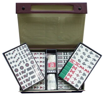 Mahjong tiles wing with a case (large)