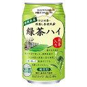 【送料無料(西濃)】 合同酒精 NIPPON PREMIUM 静岡県産緑茶ハイ 缶 340ml×24本×2箱【合計48本】