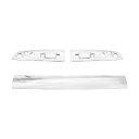送料無料 いすゞ ギガ H22年5月〜H27年11月 メッキ ルーフ オーナメント パネル 3分割 交換式 ISUZU 大型 GIGA カスタム パーツ クロームメッキ