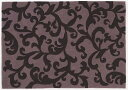 NEXT HOME カラクサ ラグ【カラー:パープル】【サイズ:140cm×200cm】床暖房・ホットカーペット対応