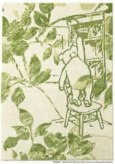 迪士尼住之江 ragmat 系列小熊維尼菲奧雷地毯地毯迪士尼/小熊維尼/百花地毯迪士尼人物小熊維尼地毯