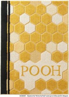 迪士尼住之江 ragmat 系列小熊維尼蜂蜜地毯地毯迪士尼/小熊維尼/蜂蜜地毯迪士尼明星小熊維尼地毯